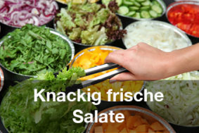 Restaurants mit Brunch-Buffet Salatbuffet