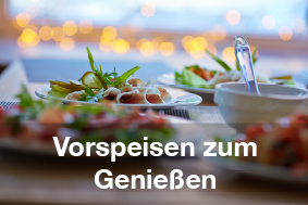 Restaurants mit Brunch-Buffet Vorspeisen